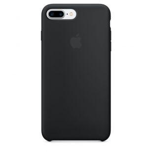 Силиконовый чехол для iPhone 7 Plus (черный) MMQR2ZM/A