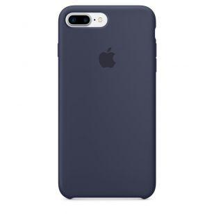 Силиконовый чехол для iPhone 7 Plus (темно-синий) MMQU2ZM/A