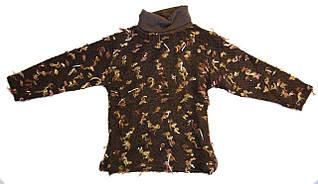 Водолазка коричневая (4-7 лет)