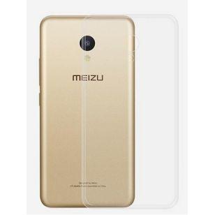 Чехол силиконовый для Meizu M5 прозрачный