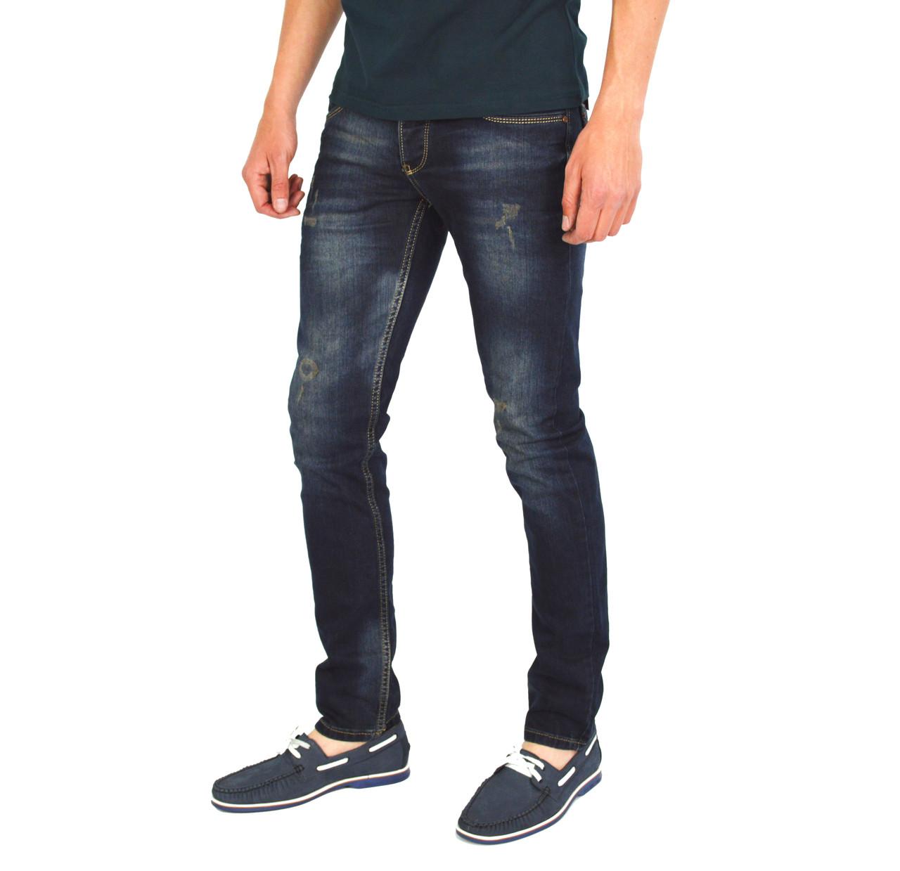44edf0c2 Темно-синие мужские джинсы зауженные JACK JOHNSON: продажа, цена в ...