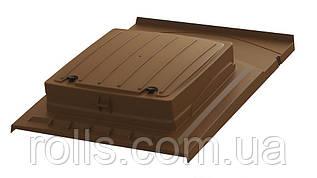 Люк для покрівлі коричневий UNIROOF 1180*900*243мм