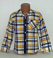 Рубашка на мальчика 5,6,7,8 лет
