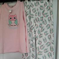 Женская пижама из микрофлиса Primark M-L с Совами
