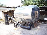 Установки пиролизные для производства древесного угля.
