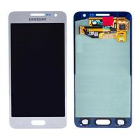 Тачскрин в сборе с дисплеем Silver (GH97-16747C) для смартфона Samsung A300h Galaxy A3
