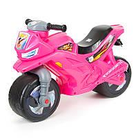 """Каталка-мотоцикл 501 """"Orion"""" 2-х колесный,малиновый"""