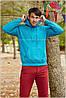 Мужская толстовка с капюшоном теплая худи начес 62-208-0 - Фото