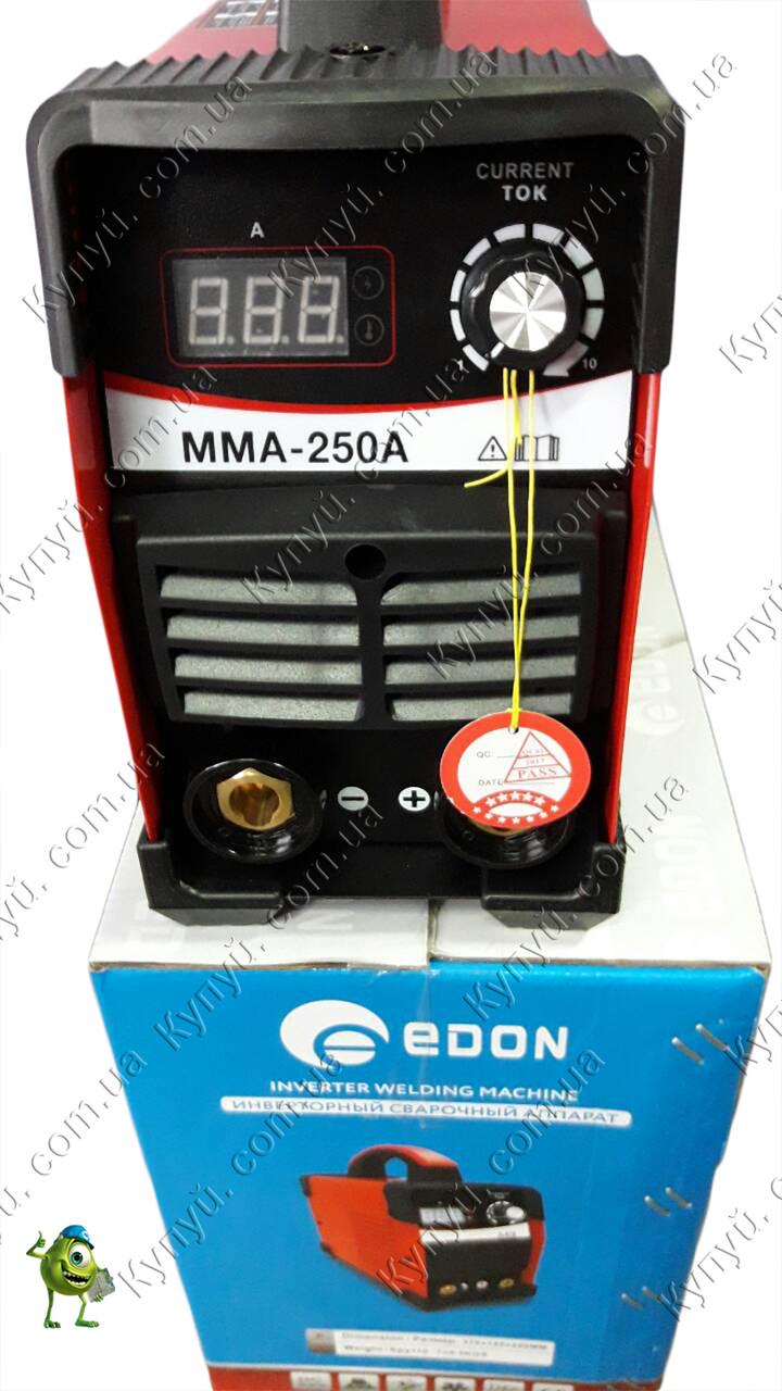 Сварочный инвертор Edon ММА-250А