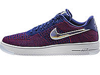 Мужские кроссовки  Nike Air Force 1 low ultra flyknit Red/White