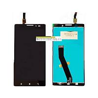 Модуль (сенсор + дисплей LCD) Lenovo K910 чорний