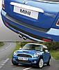 Накладка заднего бампера Mini R56 One / Cooper Mk II 2006>2014
