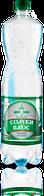 Мінеральна природна столова вода «Солуки Плюс» 1,5л, слабогазована