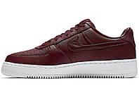 Мужские кроссовки  Nike Air force 1 Low Lab Maroon