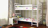 Кровать Жасмин Вариант 2 (карточки) без матраса с каркасом, белая
