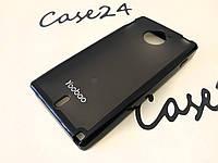 TPU чехол Yoobao для Sony Xperia Sola MT27i серый (+ плёнка)
