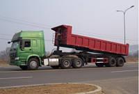 2 осевой полуприцеп  Dump Semi-trailer