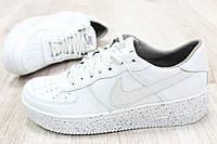 Кроссовки белые Nike 41