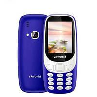 Мобильный телефон VKworld Z3310 Blue 1450 мАч