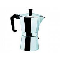 Кофеварка гейзерная алюминиевая на  3 чашки 9542/Empire