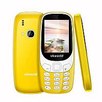 Мобильный телефон VKworld Z3310 Yellow 1450 мАч