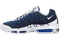 Мужские кроссовки  Nike Air Max 95 Ultra Jacquard Colourways White/Blue