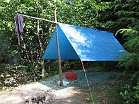 Тенты туристические Тарпаулин - тенты для отдыха, фото 1
