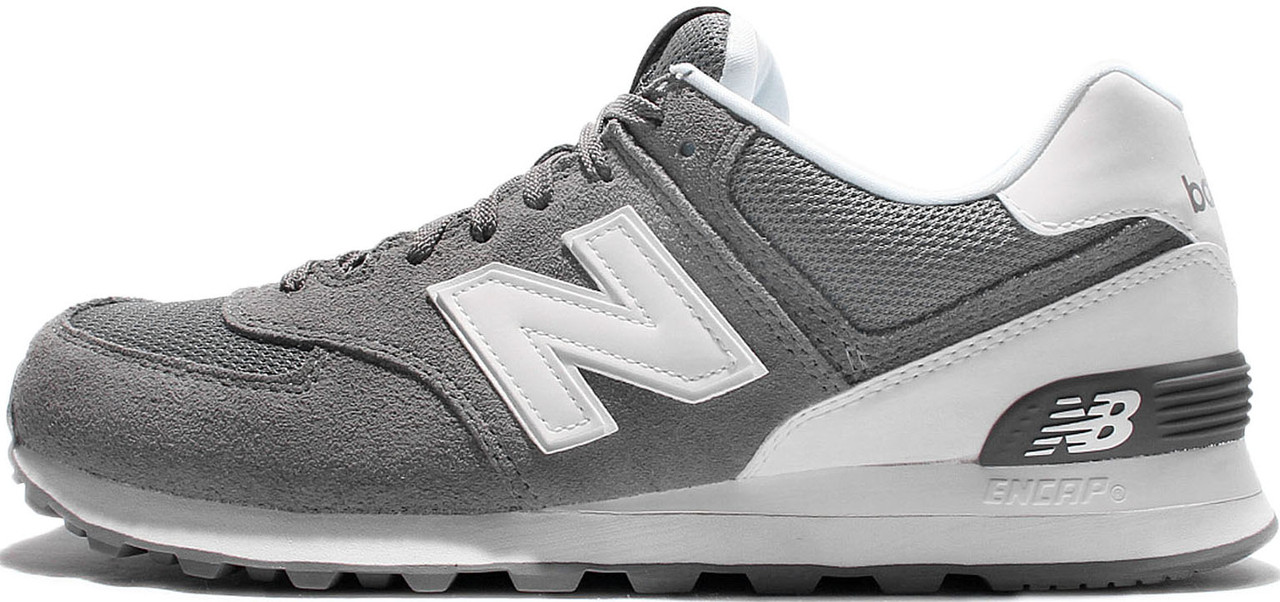Мужские кроссовки New Balance 574 ML Grey/White