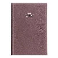 Ежедневник датированный 2018 Стандарт Laguna фиолетовый