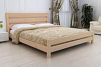 Деревянная кровать Юлия люкс из массива ольхи.