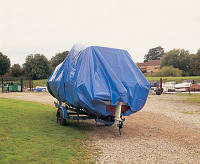 Тенты стояночные для катеров и яхт Тарпаулин