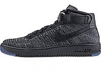 Мужские кроссовки  Nike Lunar Force Fly Knit all Black