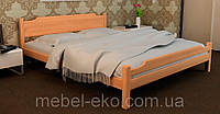 Деревянная кровать Ева люкс