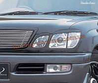 Реснички на фары для Lexus lx 470 1998-2007