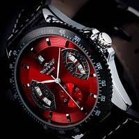 Мужские механические часы Winner Classic Red
