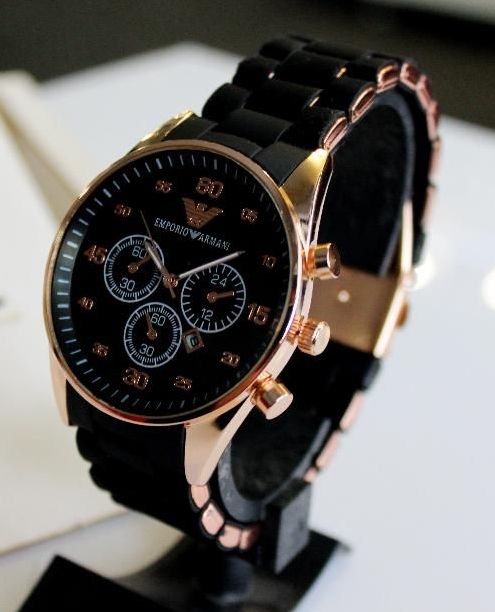2a6681f1 Наручные часы Emporio Armani кварц gold - black: продажа, цена в ...