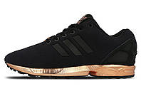 Женские кроссовки Adidas Flux Black/Gold