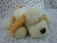 Мягкая плюшевая игрушка  Собака с пятном,35'-110
