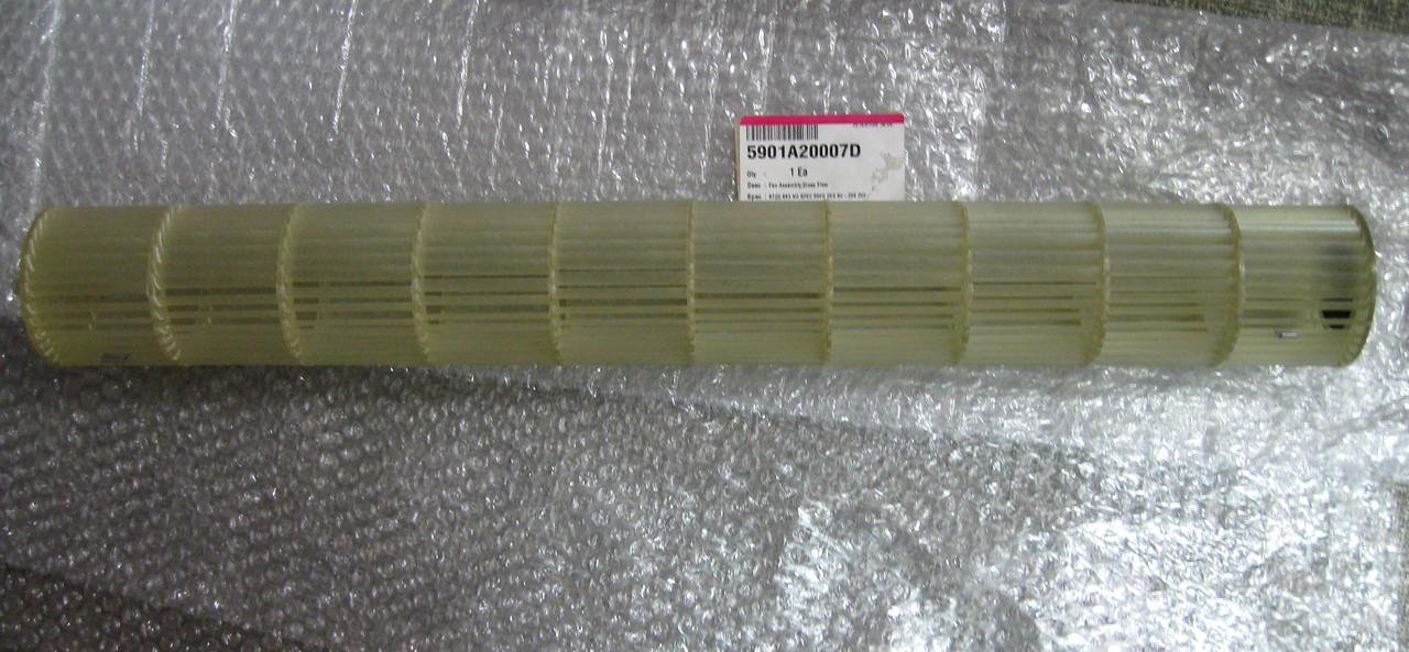 Крыльчатка вентилятора внутреннего блока кондиционера LG 5901A20007D