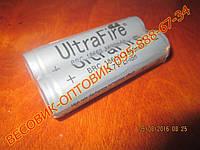 Аккумулятор (АКБ) UltraFire BRC-18650 3,7v  3800 мА/ч Li-ion 65х18мм