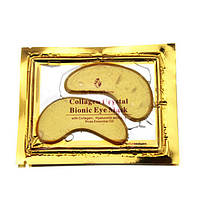 Коллагеновая маска с био-золотом для глаз Crystal Collagen GOLD Powder Eye Mask