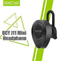 QCY J11 Bluetooth 4.1 black (черный) -  Недорогая беспроводная гарнитура для длительных разговоров!
