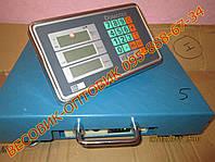 Весы Domotec TCS-R1 Wi-Fi 100кг 300х400мм (дел. 20 и 50г), фото 1