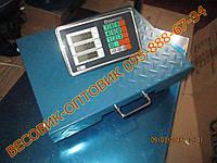 Беспроводные электронные торговые весы до 300 кг Domotec TCS-R2 Wi-Fi, 500х400мм (дел. 50 и 100г)