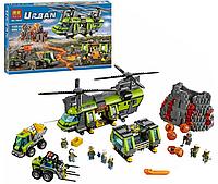 """КонструкторBelaUrban10642""""Тяжёлый транспортный вертолёт Вулкан"""" 1325дет."""