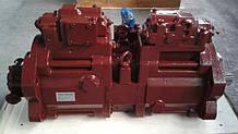 Насосы Kawasaki  K3V45DT, K3V63D, K3V112DT для экскаваторов
