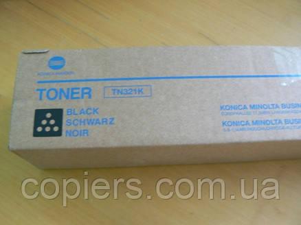 Toнер картридж TN321 K  Konica Minolta bizhub C224/C284/C364  оригинал, A33K150