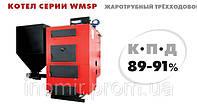Твердотопливный котел жаротрубный трехходовой серии WMSP 100 (100 кВт.) с автоматизированной подачей топлива
