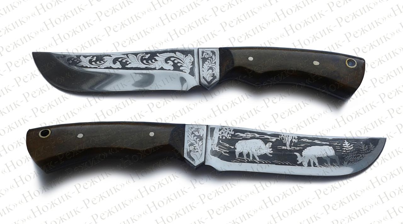 Охотничий нож, туристический нож, стальной нож, нож АТО, боевой нож