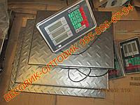 Весы Олимп TCS-102-А New 2мм сталь без стойки 150кг 300х400